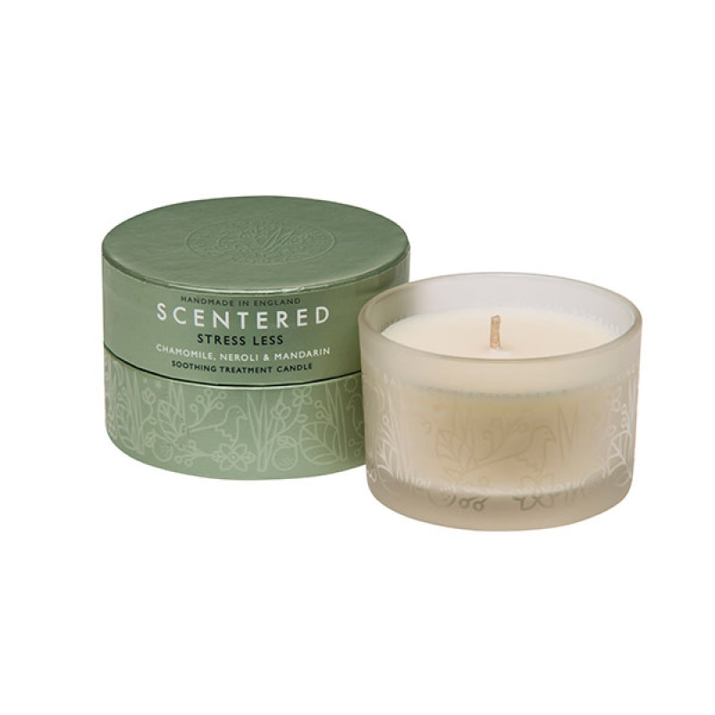 De-stress travel candle