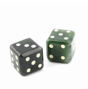 Jade Dice Set Canadian Jade