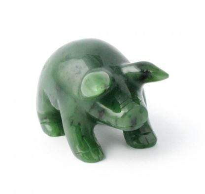 Pig Nephrite Jade- Year of the Pig! Canadian Jade 1
