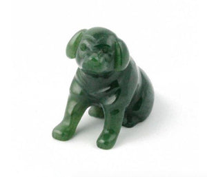 Sitting Dog Canadian Jade Canadian Jade 1 1/2""