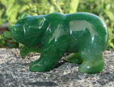 Walking Bear Nephrite Jade Canadian Jade