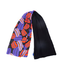 Load image into Gallery viewer, Black Anemone Scarf
