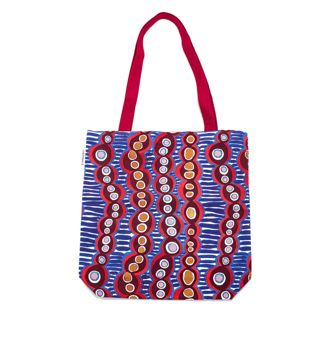 Cells Canvas Tote