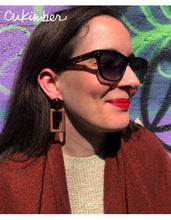 Load image into Gallery viewer, Mary Earrings in Brown / Taupe