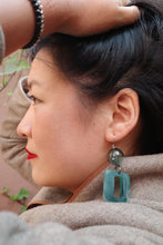 Load image into Gallery viewer, Mami Earrings in Jade Green