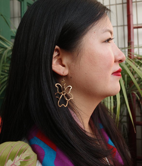 Lotus Flower Earrings | cukimber