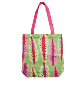 Green Chard Canvas Tote