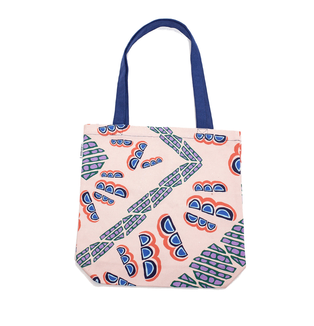 Honeycombs Canvas Tote