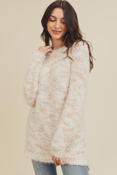 Tenderhearted Blush Sweater