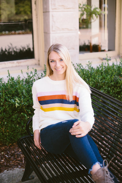 Chasing Rainbows Sweater
