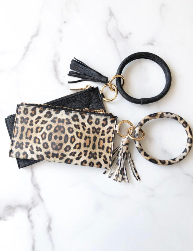 Bracelet Keychain & Removable Clutch
