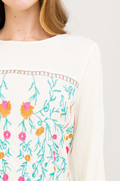 Embroidered Dreamy Top