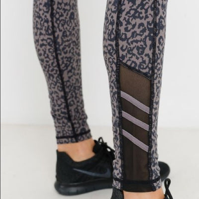 Highwaist Leopard Print Leggings