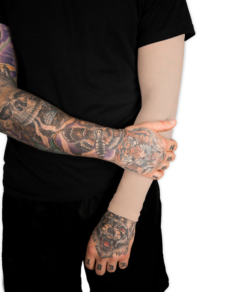 Thumbnail of Light Skin Tone Full Arm Sleeve
