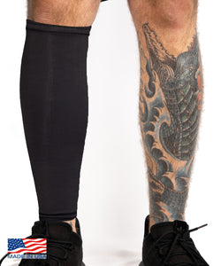 Tattoo Cover Calf Sleeve - Black