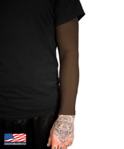 Chocolate Brown Full Tattoo Cover Arm Sleeve