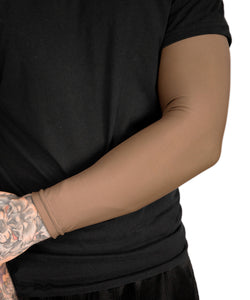 Full Tattoo Cover Arm Sleeve - Cappuccino