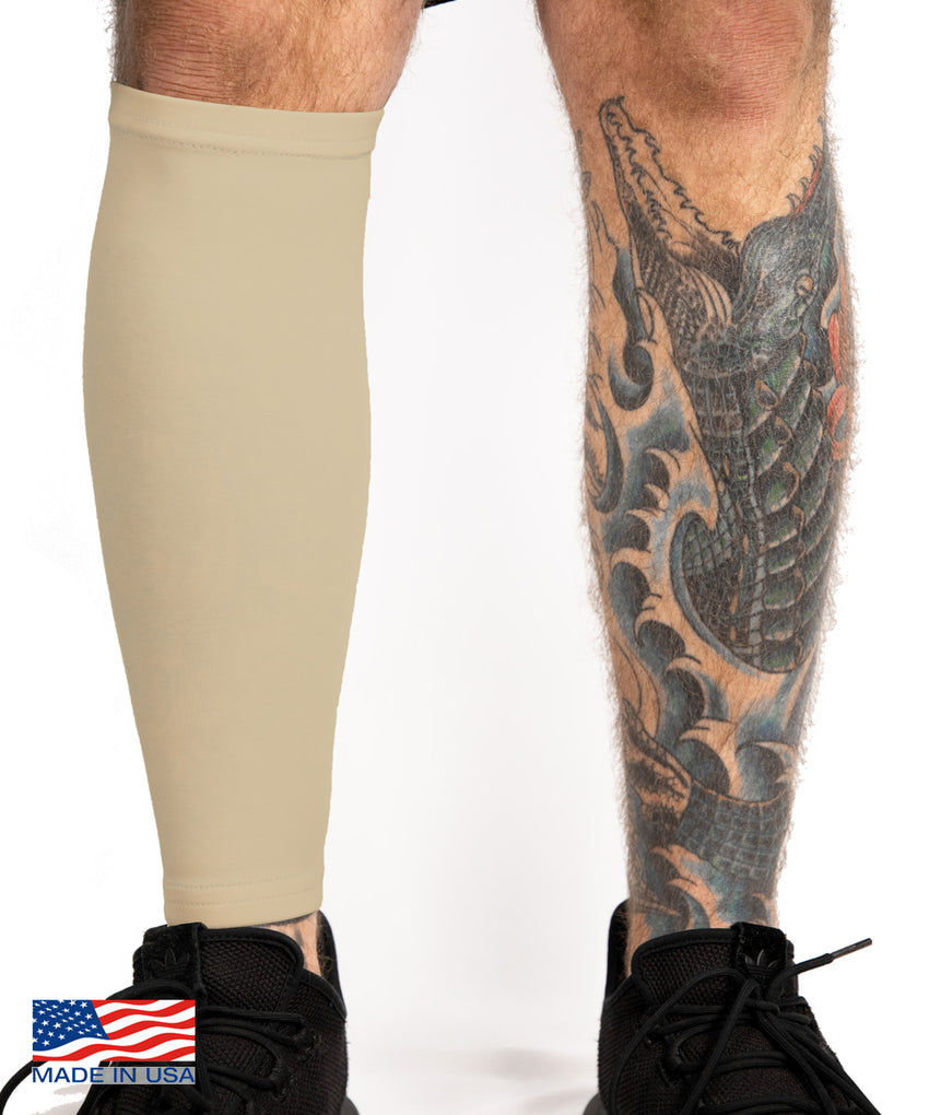 Tattoo Cover Up Calf Sleeve Light Skin Tone Tatcover