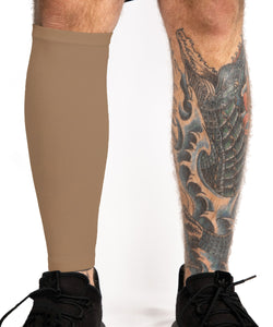 Tattoo Cover Up Leg Sleeve - Cappuccino
