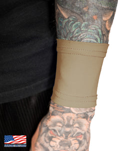 Cappuccino Tattoo Cover Small Wrist Sleeve