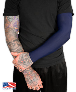 Navy Full Tattoo Cover Arm Sleeve