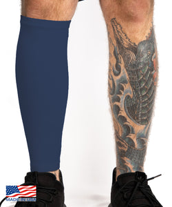 Navy Tattoo Cover Calf Sleeve