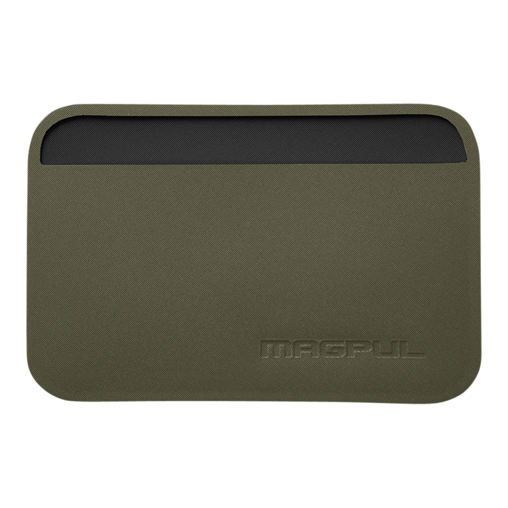 Magpul DAKA Essential Wallet (Olive Drab Green) - Front View