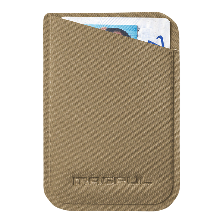 Magpul DAKA Micro Wallet (Flat Dark Earth) - Front View