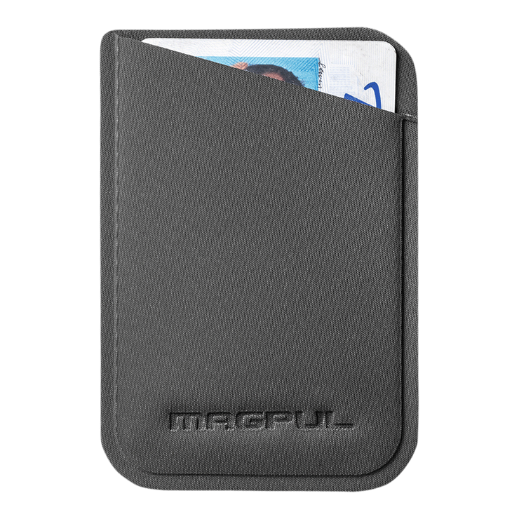 Magpul DAKA Micro Wallet (Stealth Grey) - Front View