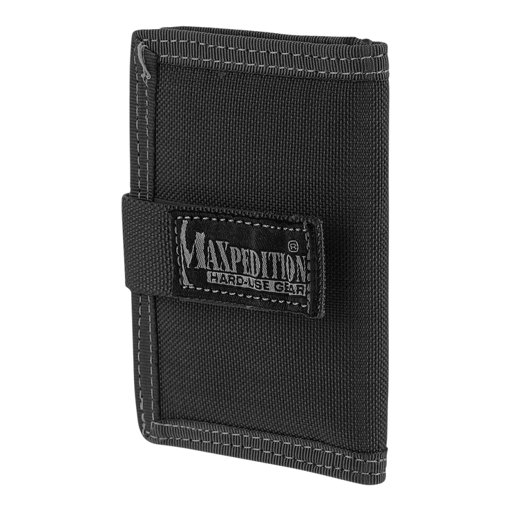 Maxpedition Urban Wallet (Black) - Front View