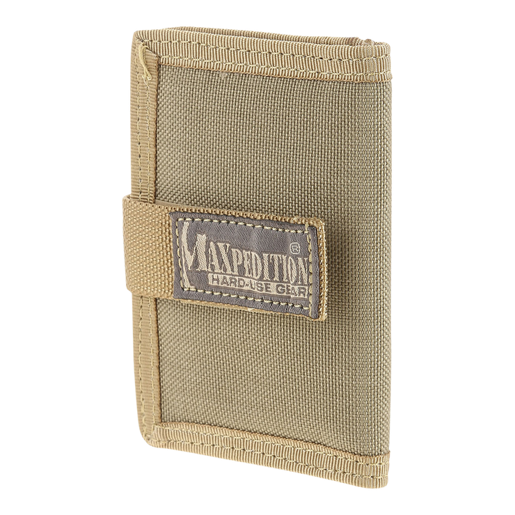 Maxpedition Urban Wallet (Khaki) - Front View