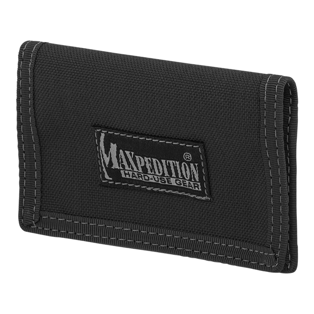 Maxpedition Micro Wallet (Black) - Front View