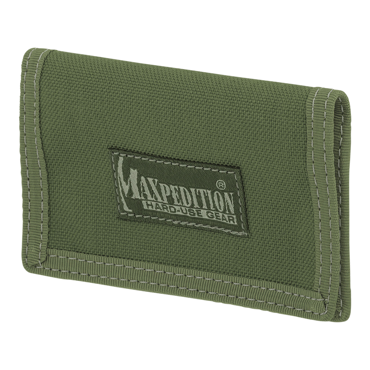 Maxpedition Micro Wallet (OD Green) - Front View