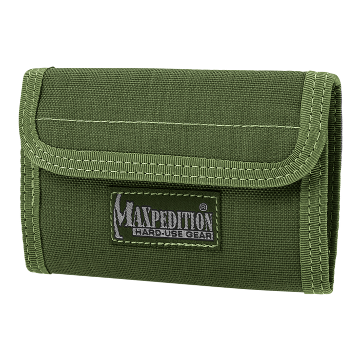 Maxpedition Spartan Wallet (OD Green) - Front View