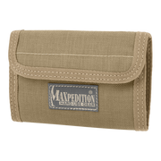 Maxpedition Spartan Wallet (Khaki) - Front View