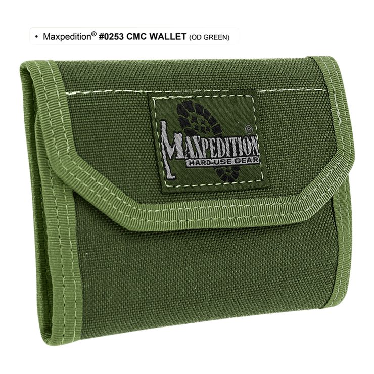 Maxpedition C.M.C. Wallet (OD Green) - Hard Use Gear