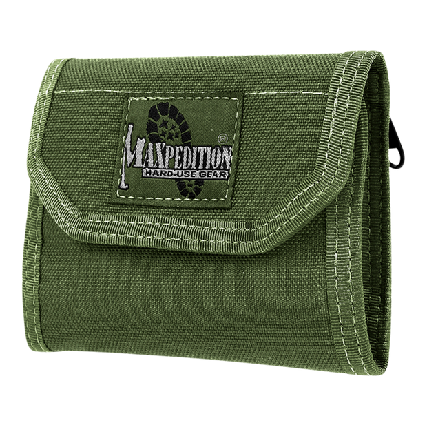 Maxpedition C.M.C. Wallet (OD Green) - Front View