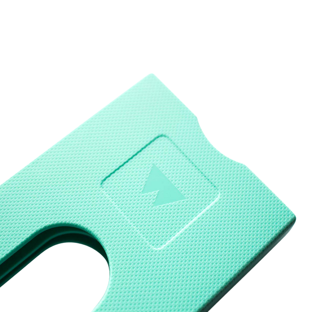 Walter Stack & Slide ABS Card Wallet (Fresh Mint) - Close Up