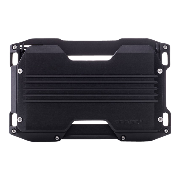 Dango A10 Adapt Wallet (Jet Black) - Back View