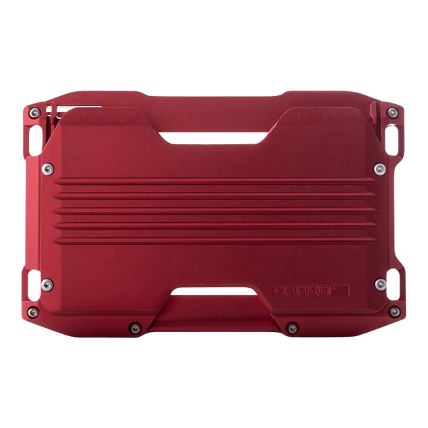 Dango A10 Adapt Wallet (Crimson Red) - Back View