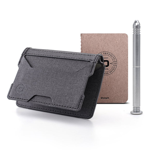A10 Adapt Bifold Pen Wallet (Slate Grey)