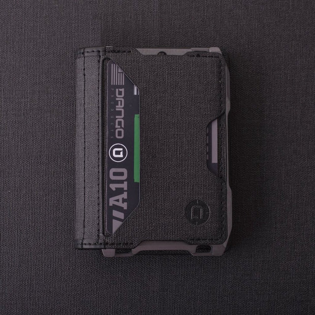 Dango A10 Adapt Bifold Wallet (Slate Grey) - Front Pocket