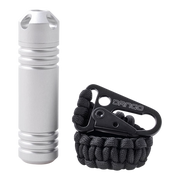 Dango Capsule XL Tether Bundle (Satin Silver) - Complete View
