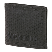 Maxpedition AGR BFW Bifold Wallet (Black) - Front View