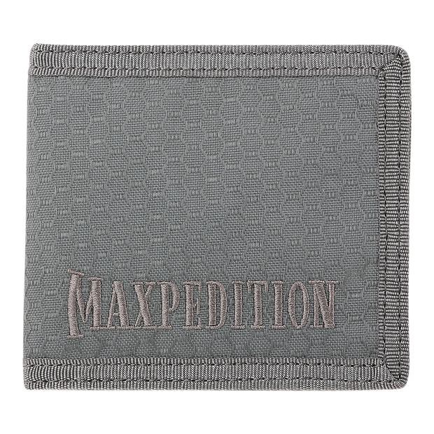 Maxpedition AGR BFW Bifold Wallet (Grey) - Triple Nylon Fabric Construction