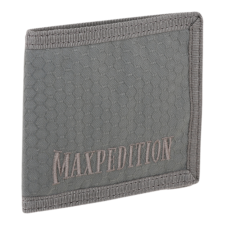 Maxpedition AGR BFW Bifold Wallet (Grey) - Advanced Gear Research
