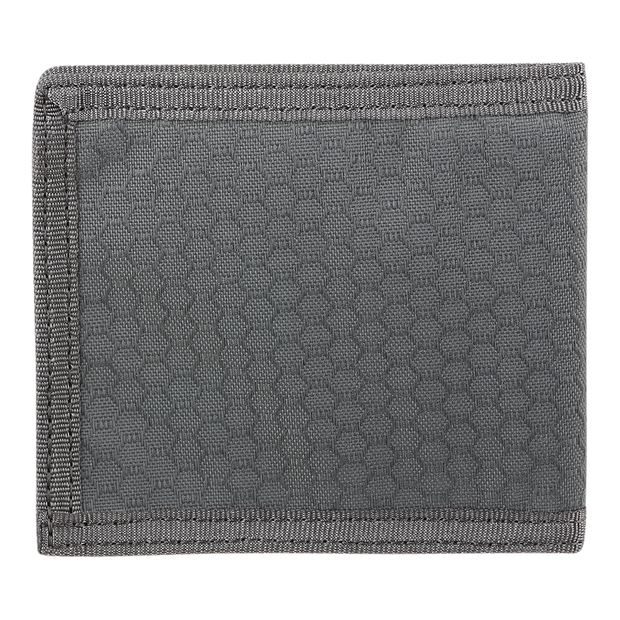 Maxpedition AGR BFW Bifold Wallet (Grey) - Back View