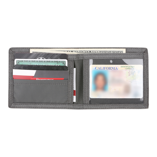 Maxpedition AGR BFW Bifold Wallet (Grey) - Cash & Cards