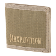 Maxpedition AGR BFW Bifold Wallet (Tan) - Front View