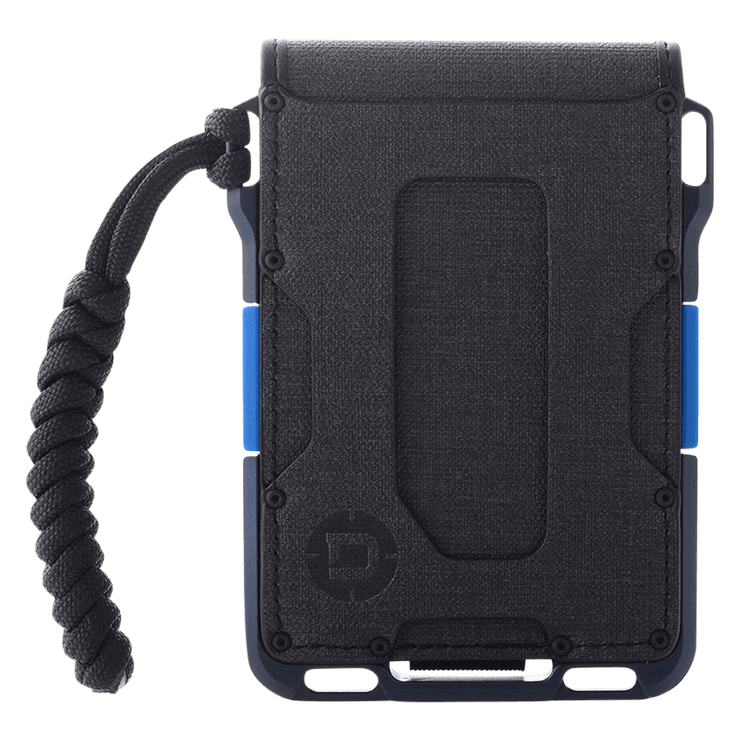 Dango M1 Maverick 4 Pocket Bifold Spec-Ops Special Edition Wallet (Blueline) - 550 Paracord
